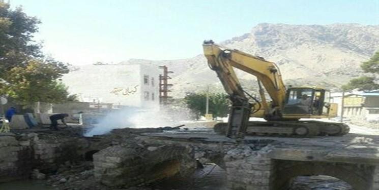 پایان کش و قوسهای پل بهداری خرمآباد/ سوت شروع برای احداث به صدا درآمد