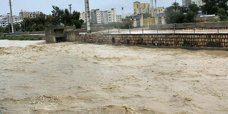 افزایش دبی رودخانههای لرستان/ تهدید سیلاب برای اهالی حاشیه کشکان جدی است