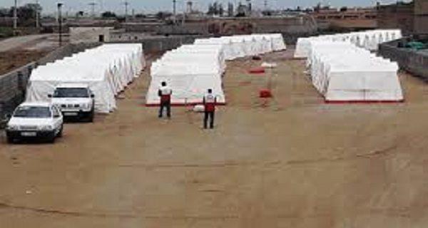 برپایی کمپهای امدادی و اسکان اضطراری در پلدختر/اقلام امدادی در حال توزیع است