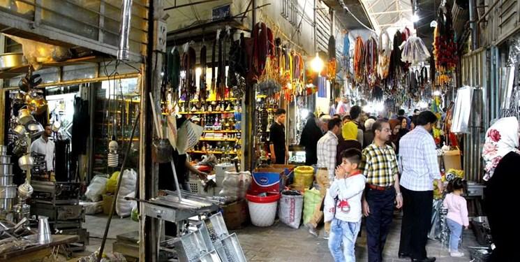 جمعآوری دستفروشان و تعطیلی بازار بروجرد از امروز
