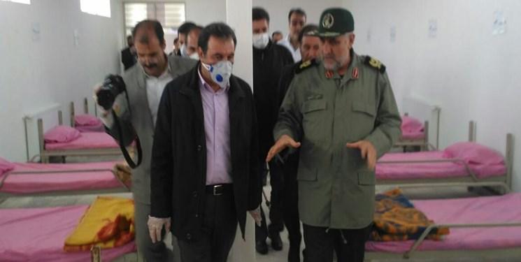 راه اندازی نقاهتگاه بیماران کرونایی توسط سپاه لرستان