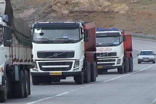 اعزام ۳۳ کامیون به بندر امام خمینی(ره) جهت انتقال اقلام اساسی به لرستان