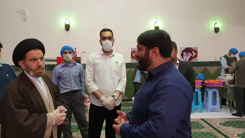 تلاش شبانه روزی مسجد جواد الائمه در مبارزه با کرونا