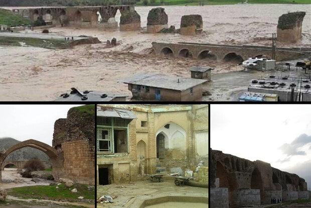 پیکر رها شده بناهای تاریخی لرستان/اعتبارمرمت بعد سیل پرداخت نشد
