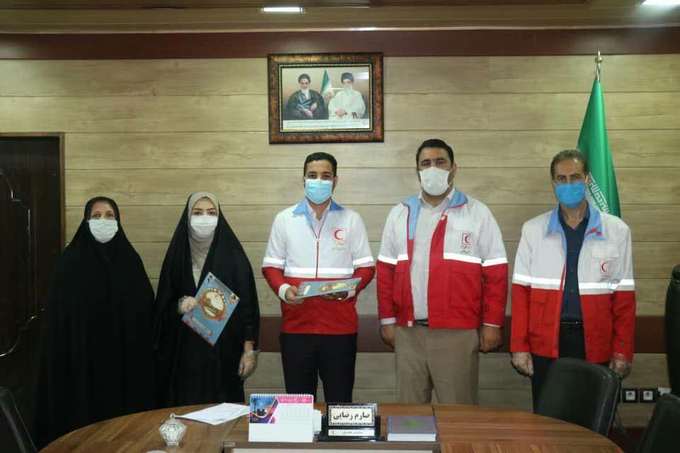 انتصاب دستیاران جوانان مدیر عامل جمعیت هلال احمر لرستان