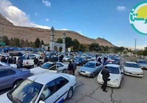 به مناسبت شهادت شهید محسن فخری زاده؛ حرکت کاروان موتوری و خودرویی در خرم آباد + عکس