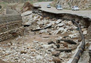 آسیب جدی سیلاب به راههای لرستان/ وعده وزیر برای اصلاح زیرساختها