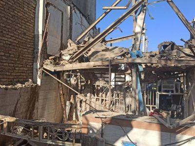 ۱۴ کشته و زخمی در حادثه انفجار در خرم آباد
