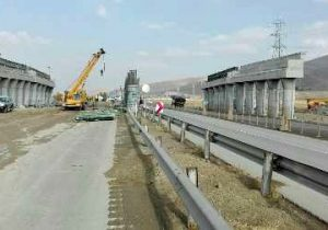 قطعه نخست آزاد راه خرمآباد-اراک در مراحل پایانی