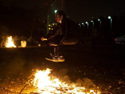 ۲۵ نفر در حوادث چهارشنبه سوری لرستان مصدوم شدند