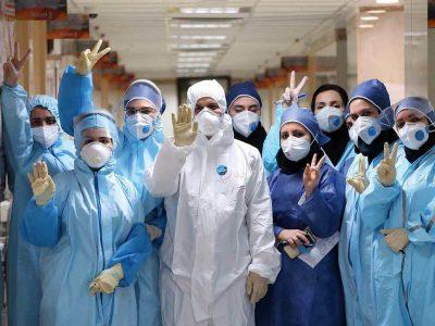 ۱۴۰ نفر از کادر درمان تامین اجتماعی خرمآباد واکسن کرونا زدند