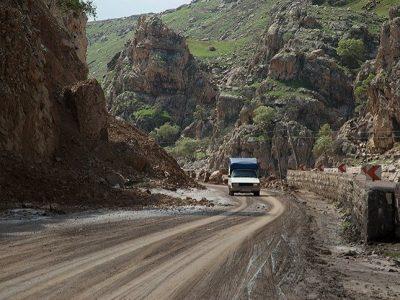کاهش اعتبار آسفالت جادههای لرستان