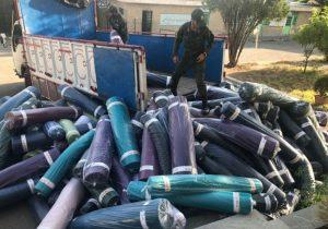 """کشف پارچه قاچاق ۲۵ میلیاردی در """"خرم آباد"""""""
