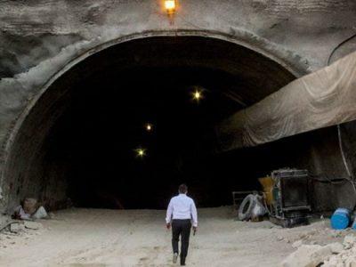 حفر پیچیدهترین تونل جاده خرمآباد- پلدختر توسط قرارگاه خاتمالانبیاء