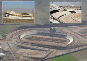دهکده المپیک خرم آباد تبدیل به ورزشگاه ۱۵ هزار نفری شد/ دولت تدبیر متخصص کوچک سازی و یا رها کردن پروژه ها در لرستان