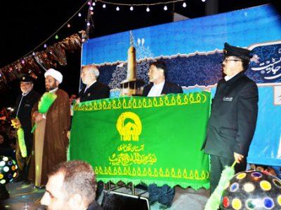 پرچم آستان مقدس رضوی ۴ روز مهمان مردم لرستان/ ۳۳ برنامه مناسبتی دهه کرامت در دیار فلک الافلاک