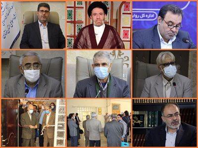 افتتاح دفتر انجمن آثار و مفاخر فرهنگی لرستان و اهداء حکم اعضای هیات امناء انجمن