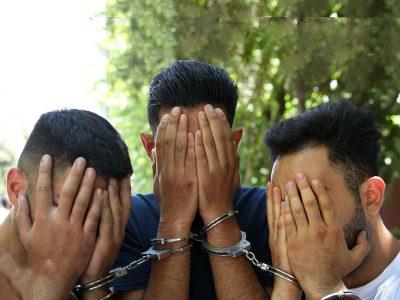 دستگیری ۳ سارق مسلح در آزاد راه خرم زال