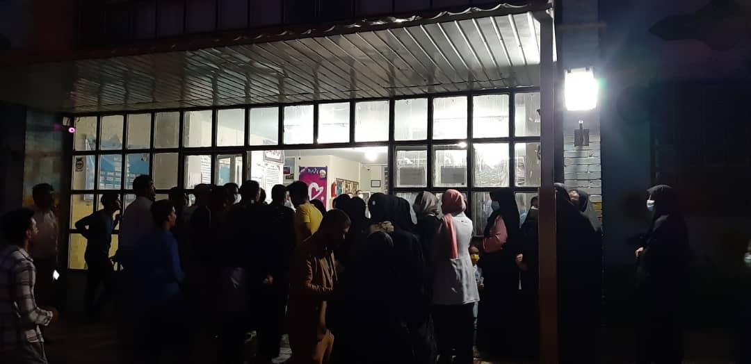01 3 | حضور شبانه و پرشور مردم شهرستان دلفان در پای صندوق های رای (2) | امید لرستان