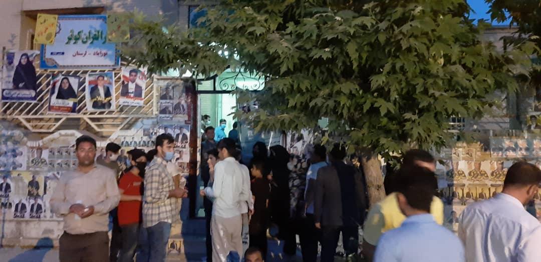 01 4 | حضور شبانه و پرشور مردم شهرستان دلفان در پای صندوق های رای (2) | امید لرستان