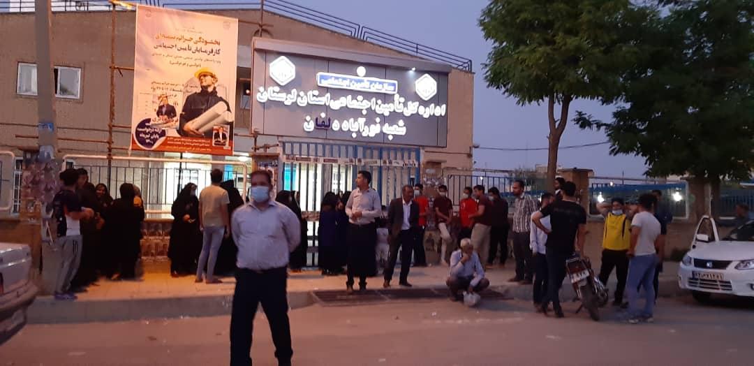 01 7 | حضور شبانه و پرشور مردم شهرستان دلفان در پای صندوق های رای (2) | امید لرستان
