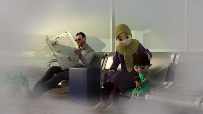 01 | انیمیشن «آسمان و دریا» از لرستان برگزیده جشنواره «ایران قوی» شد | امید لرستان