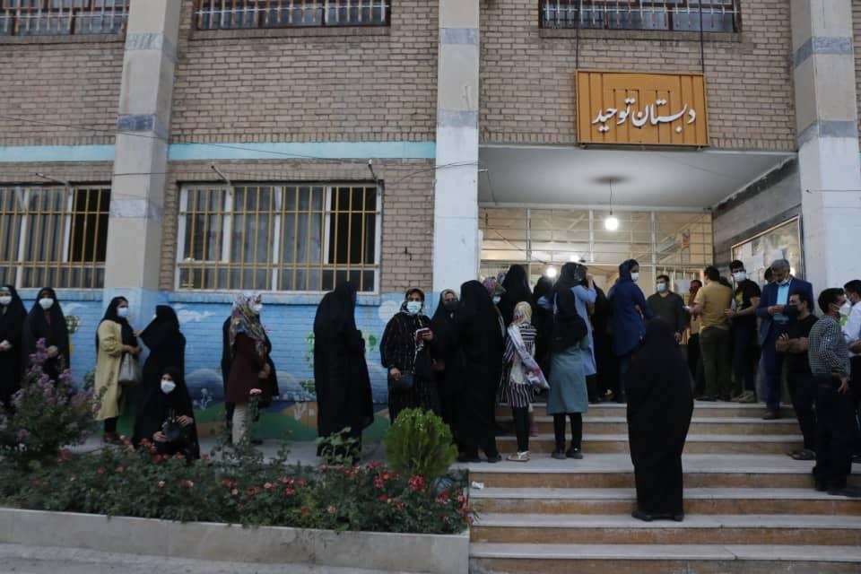 02 4 1 | حضور پرشور مردم خرم آباد در پای صندوق های رای (2) | امید لرستان