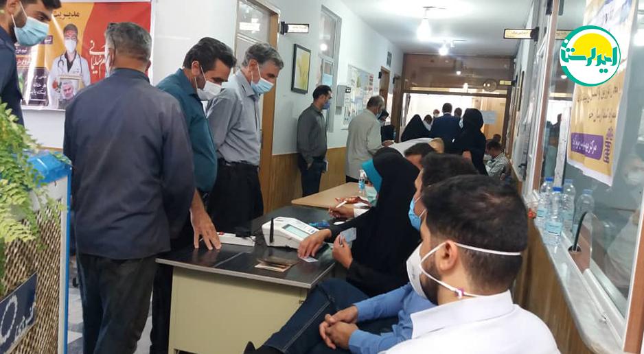 1 2 | حضور پرشور مردم خرم آباد در پای صندوق های رای | امید لرستان