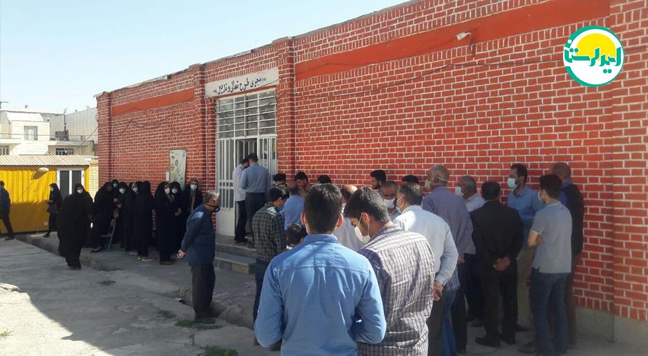 1 3   حضور پرشور مردم شهرستان دلفان در پای صندوق های رای   امید لرستان
