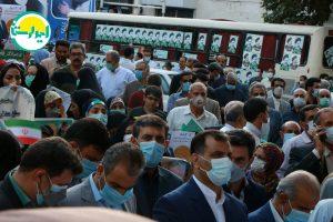 111 1   تجمع وحدت آفرین هواداران آیت الله رئیسی در خرم آباد+تصاویر   امید لرستان