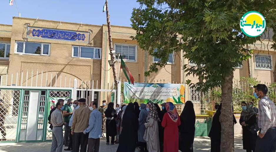 3 3 | حضور پرشور مردم خرم آباد در پای صندوق های رای | امید لرستان