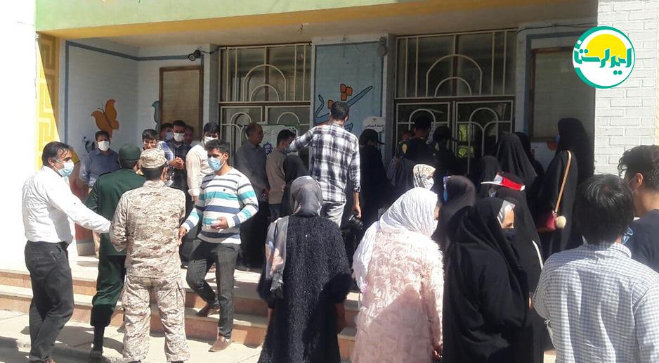 3 4   حضور پرشور مردم شهرستان دلفان در پای صندوق های رای   امید لرستان