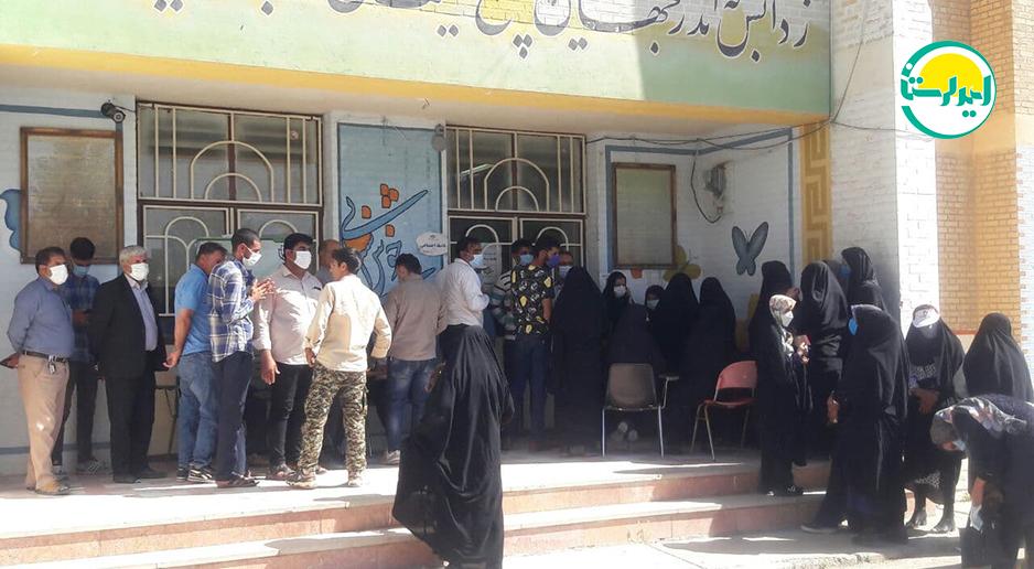 4 3   حضور پرشور مردم شهرستان دلفان در پای صندوق های رای   امید لرستان