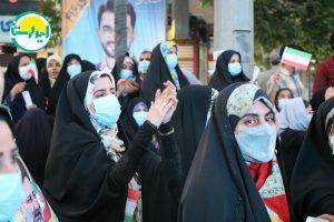 5 2   تجمع وحدت آفرین هواداران آیت الله رئیسی در خرم آباد+تصاویر   امید لرستان
