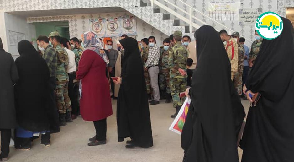 5 3 | حضور پرشور مردم خرم آباد در پای صندوق های رای | امید لرستان