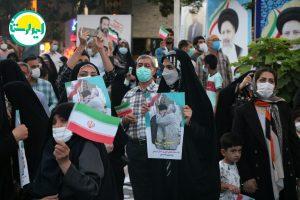 6 2   تجمع وحدت آفرین هواداران آیت الله رئیسی در خرم آباد+تصاویر   امید لرستان