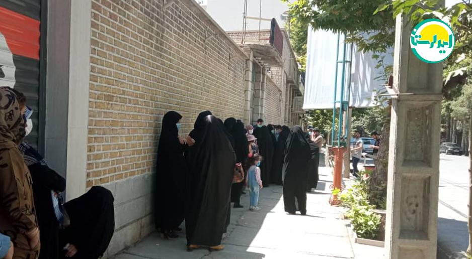 8 2 | حضور پرشور مردم خرم آباد در پای صندوق های رای | امید لرستان