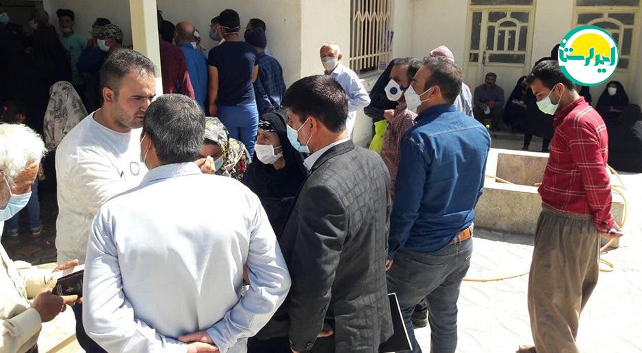 8 3   حضور پرشور مردم شهرستان دلفان در پای صندوق های رای   امید لرستان