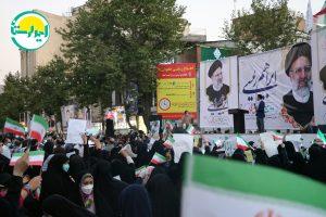 8   تجمع وحدت آفرین هواداران آیت الله رئیسی در خرم آباد+تصاویر   امید لرستان