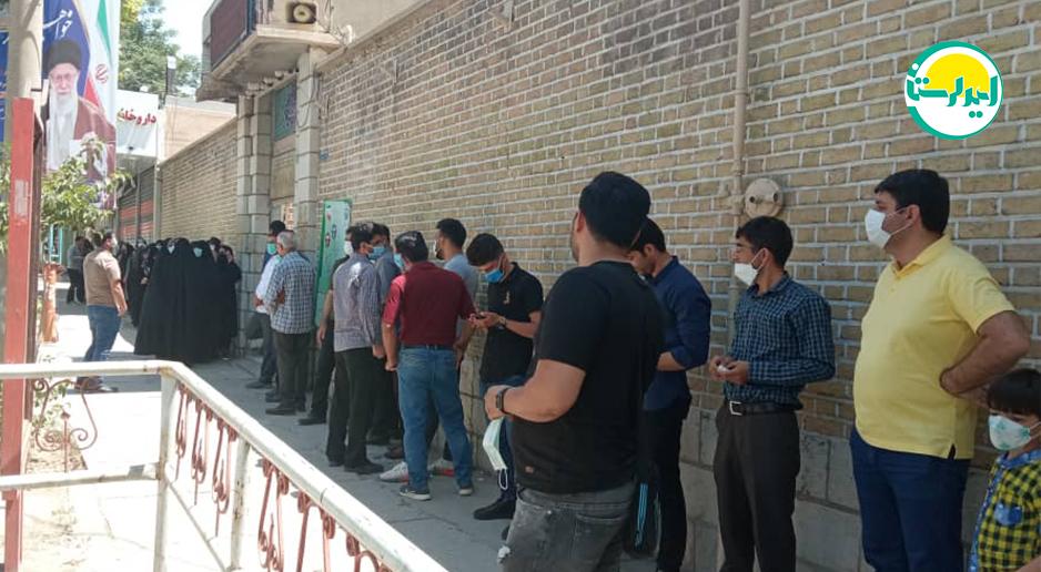 9 1 | حضور پرشور مردم خرم آباد در پای صندوق های رای | امید لرستان