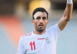 آیا هافبک لرستانی تیم ملی فوتبال به بازی با عراق می رسد