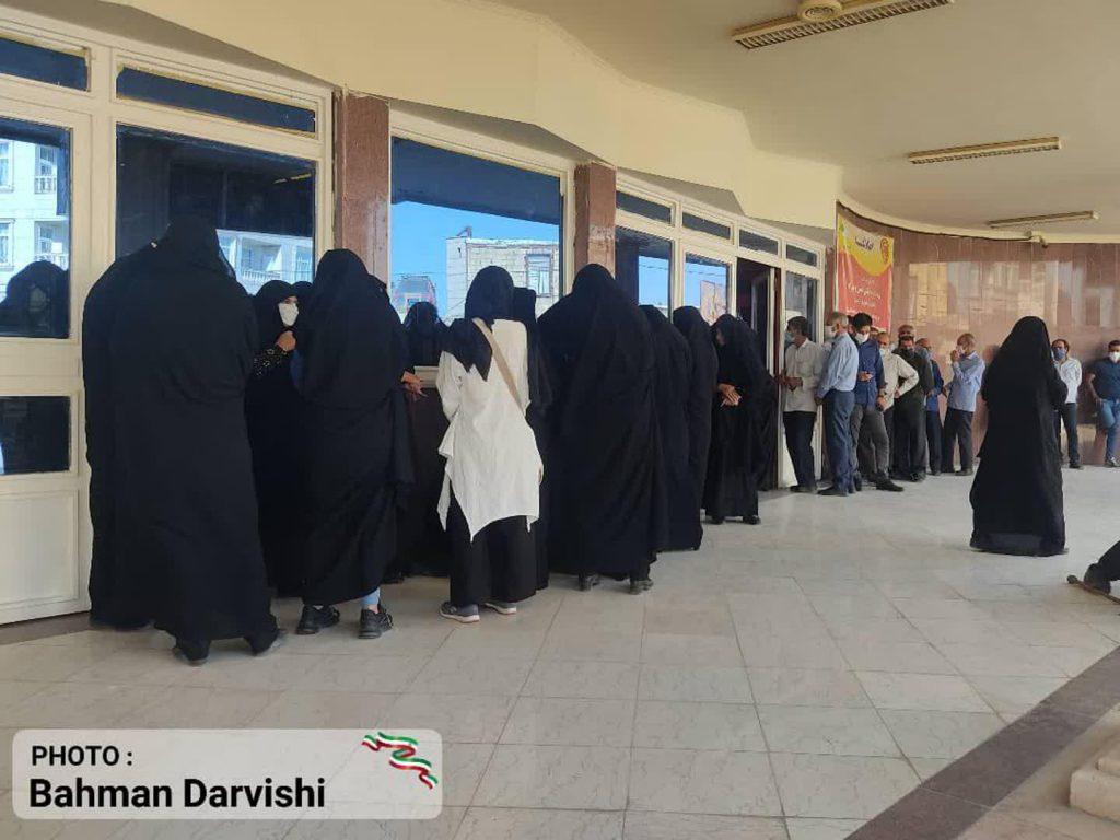 photo ۲۰۲۱ ۰۶ ۱۸ ۱۱ ۵۵ ۲۸ 2   حضور پرشور مردم کوهدشت در پای صندوق های رای   امید لرستان