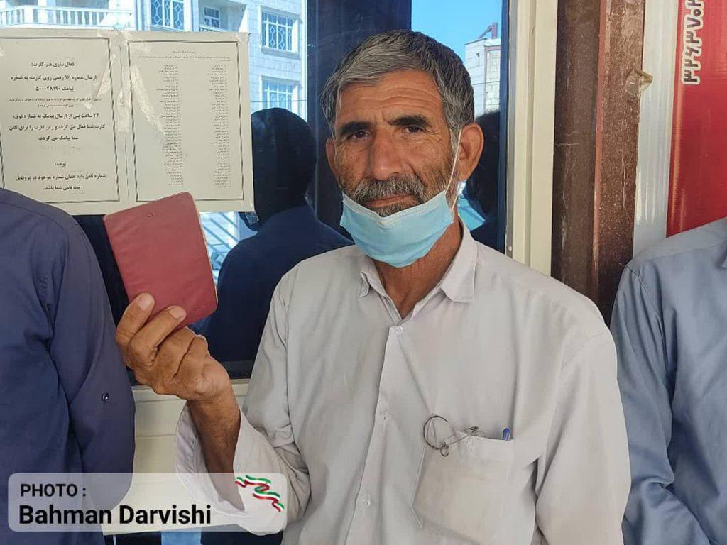 photo ۲۰۲۱ ۰۶ ۱۸ ۱۱ ۵۵ ۳۰ 3   حضور پرشور مردم کوهدشت در پای صندوق های رای   امید لرستان