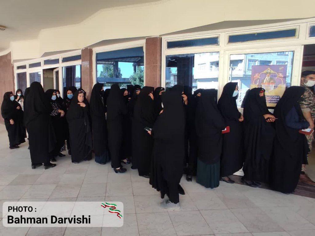 photo ۲۰۲۱ ۰۶ ۱۸ ۱۱ ۵۵ ۳۱ 4   حضور پرشور مردم کوهدشت در پای صندوق های رای   امید لرستان
