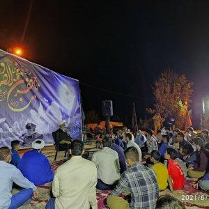photo 2021 05 17 22 11 23   برگزاری مراسم شب رحلت امام خمینی ره در هیئت شهدای گمنام خرم آباد+تصاویر   امید لرستان