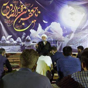 photo 2021 05 17 22 11 28   برگزاری مراسم شب رحلت امام خمینی ره در هیئت شهدای گمنام خرم آباد+تصاویر   امید لرستان