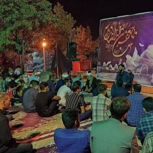 photo 2021 05 17 22 11 32   برگزاری مراسم شب رحلت امام خمینی ره در هیئت شهدای گمنام خرم آباد+تصاویر   امید لرستان