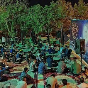 photo 2021 05 17 22 11 37   برگزاری مراسم شب رحلت امام خمینی ره در هیئت شهدای گمنام خرم آباد+تصاویر   امید لرستان