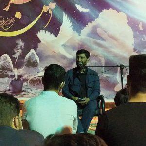 photo 2021 05 17 22 11 46   برگزاری مراسم شب رحلت امام خمینی ره در هیئت شهدای گمنام خرم آباد+تصاویر   امید لرستان