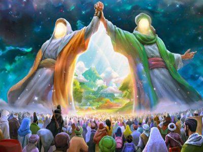 غدیر خاطره انگیز لرستان؛ از پویش هر خانه یک پرچم تا اطعام چند ده هزار نفری/ نشاط معنوی و شادی در کوچه و خیابان های سرزمین توسل های ناب
